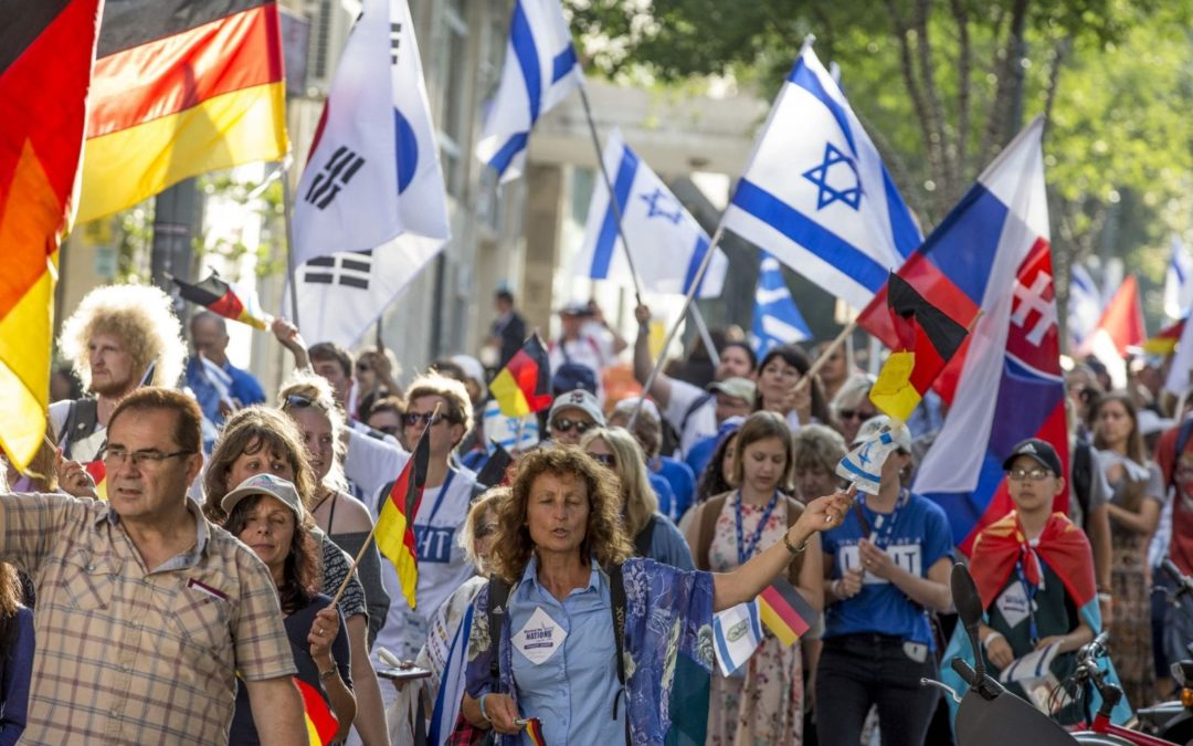 6000 Participants from 50 Nations Convene at March of Nations Jerusalem